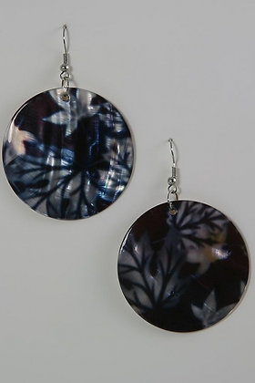 """Nina"" Mother Of Pearl Sterling Silver Earrings"
