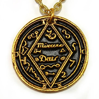 Gives Knowledge Talisman Gold Tone