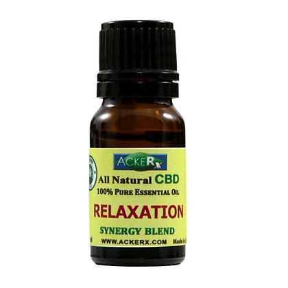 RELAXATION Synergy Aromatherapy Oil Blend