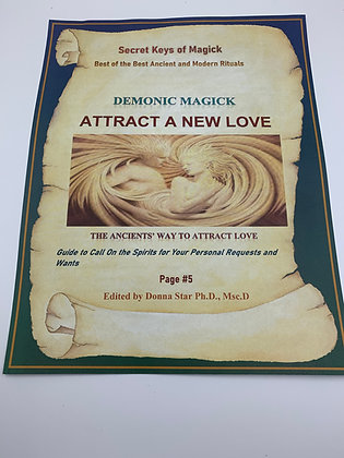 ATTRACT A NEW LOVE Spell from Book of Shadow Page #5
