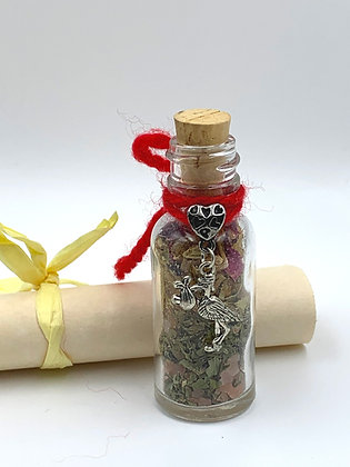 Old Witch Secret FERTILITY Bottle Spell