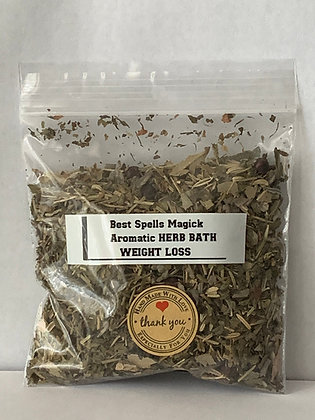 WEIGHT LOSS Aromatic Herbal Bath