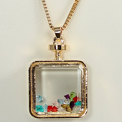 VIVIAN Perfume Bottle Fashion Necklace