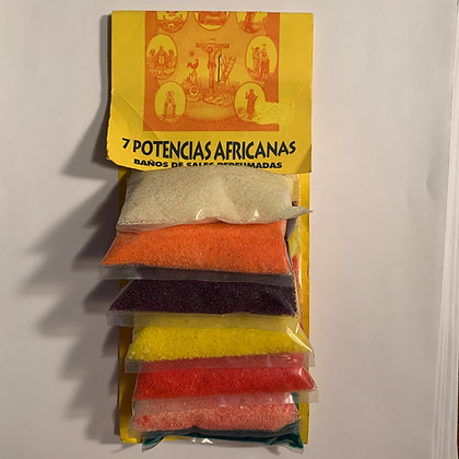 7 AFRICAN POWERS Powers Perfumed Bath Salts