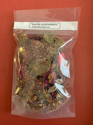 SPIRITUAL HEALER Aromatic Herb Bath