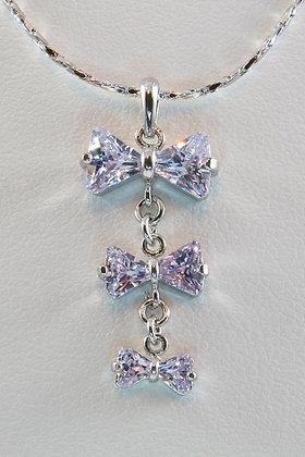 """Felicity"" Purple AAA Zircon Pendant"