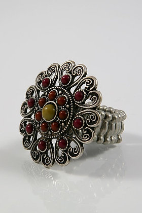 CARDA Filigree Stretch Ring.