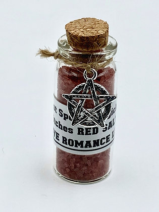 RED SALT Witches Salt for Love Romance Passion