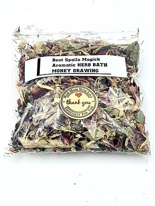 Money Drawing Herbal Bath Blend