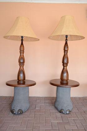 ELEPHANT FOOT LAMP.JPG