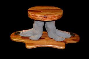 OSTRICH FOOT CURIO.JPG