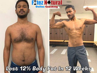 How Imran Lost 12% Body Fat, Built His Abs And Got Into The Best Shape Of His Life In 12 Weeks