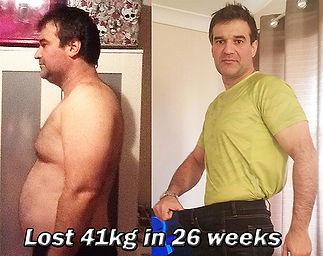 belly fat loss transformation