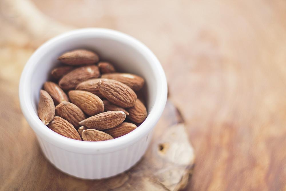 weight loss almonds