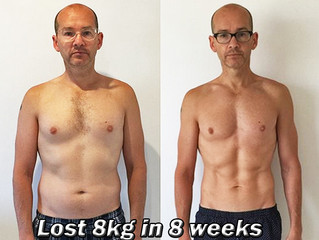 How Kevin Lost 8kg In 8 Weeks - Client Case Study