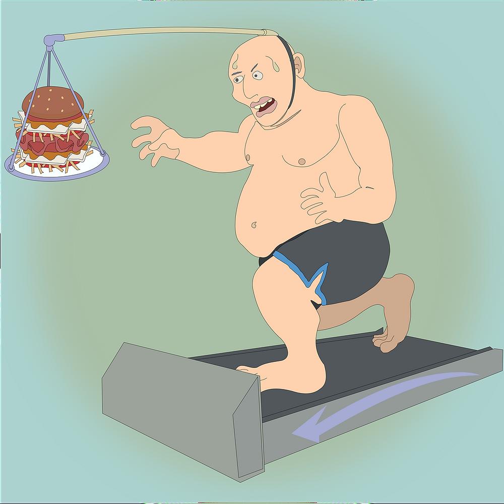weight loss treadmill photo