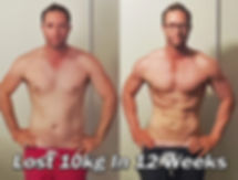 belly fat loss transformation