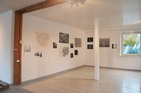 In der stille - Maja Thommen, Lenka Falušiová, Petr Zinke / Go green Art gallery Erlenbach / 2017