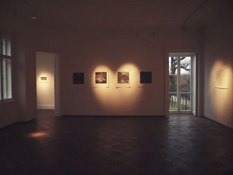 Pohled do krajiny / galerie Morzin ve Vrchlabí / 2014       Landscape view / Morzin gallery in Vrchlabí / 2014
