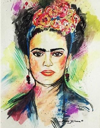 Frida-watercolor