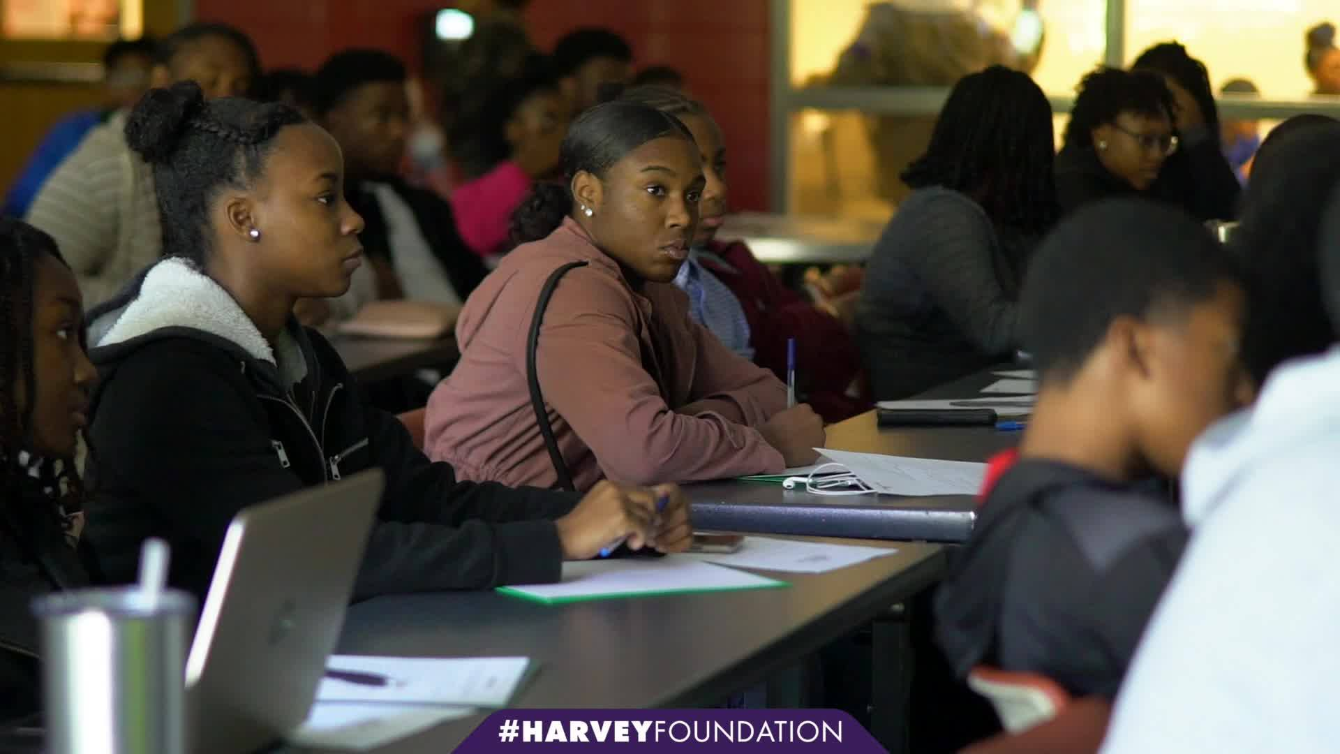 Next Step Education x Harvey Foundation