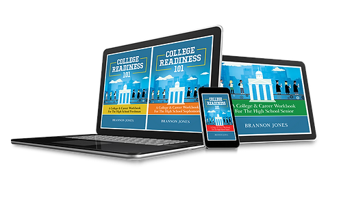 4-Part College Readiness 101 High School eWorkbook Series