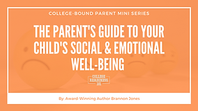 Your Child's Social & Emotional Well-Bei