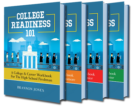 4-Part College Readiness 101 Paperback Series