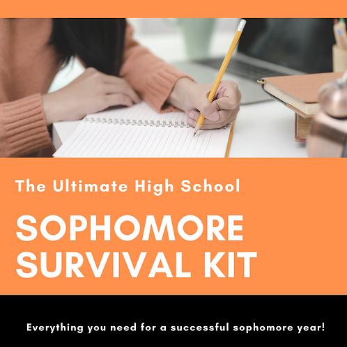 Sophomore Year Survival Kit