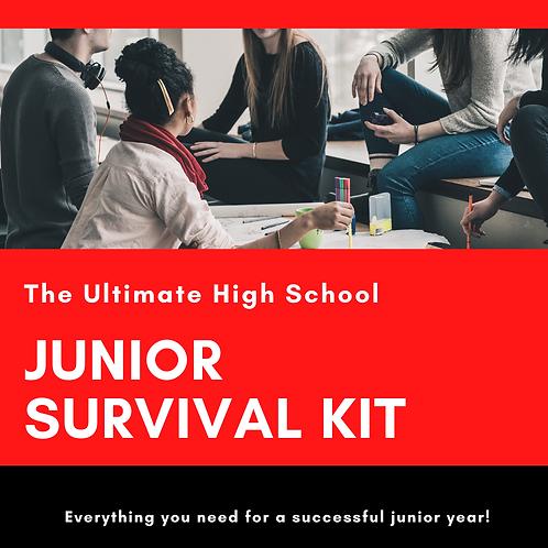 Junior Year Survival Kit