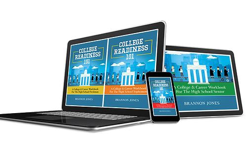 4-Part High School College Readiness 101 eWorkbook Series Set