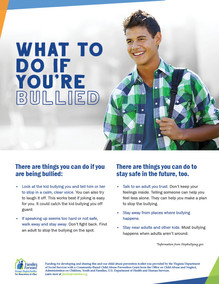 What to do if you're bullied