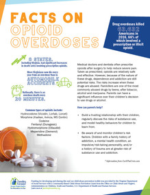 Facts on Opioid Overdoses