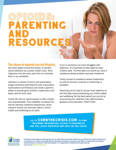 Opioids: Parenting and Resources