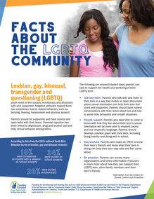 Facts about the LGBT Community
