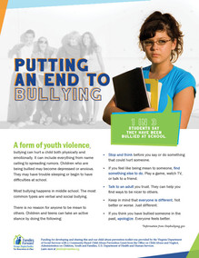 Putting an end to bullying