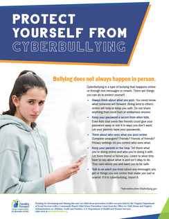 Protect yourself from cyberbullying