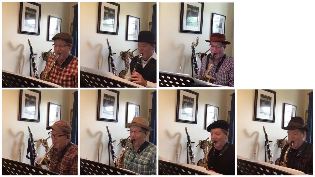 Ted Hogarth, saxophone teacher - Bluesette for Woodwinds