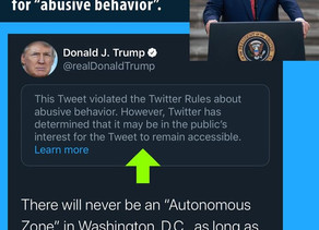 President Trump Got Slammed with Another Twitter Violation