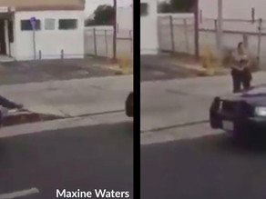 Maxine Waters Caught Interfering with a Traffic Stop in L.A.