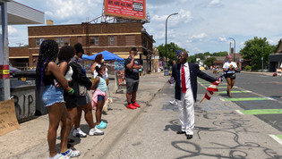 Photos: George Floyd Square - 4th of July in Minneapolis