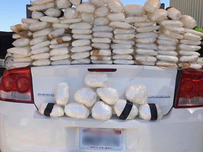 Border Patrol Seized 135lbs of Meth & Arrested a Convicted Pedophoile Trying to Enter the U.S.