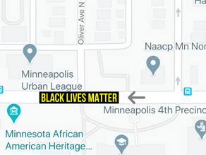 Minneapolis Approves Black Lives Matter Street Mural Near 4th Precinct Police Station