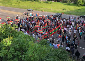 Protesters Block Highway 94  in Response to Musician's Death in Ethiopia
