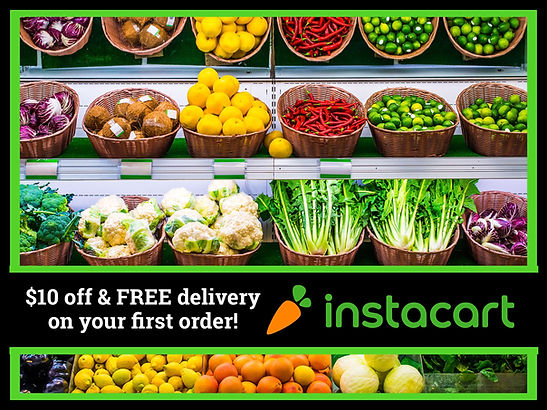 Instacart $10 off coupon