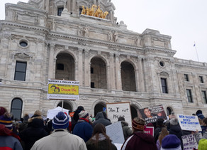 Photo Gallery: Minnesotans Gather on a Gray Winter Day to March for Life