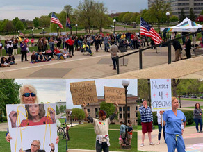 """Minnesotans Gather at the State Capitol for """"Take Back Your State"""" Town Hall"""