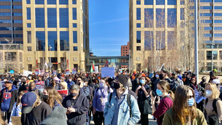 Monday Morning in Minneapolis | George Floyd Supporter Demonstration - Photo & Video Collection