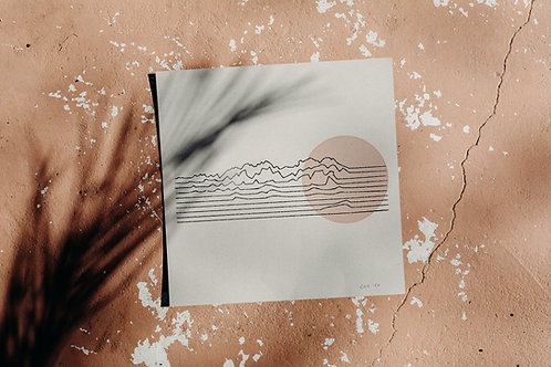 Organ Lines on Kraft Paper