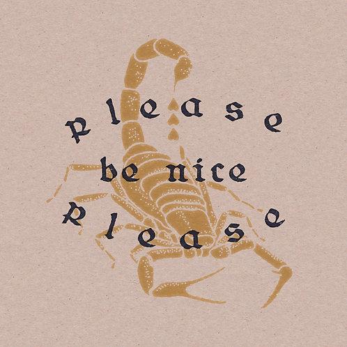 Nice Scorpion 12 x 12 Print